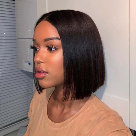 Stylish Short Weave Bob Hairstyle
