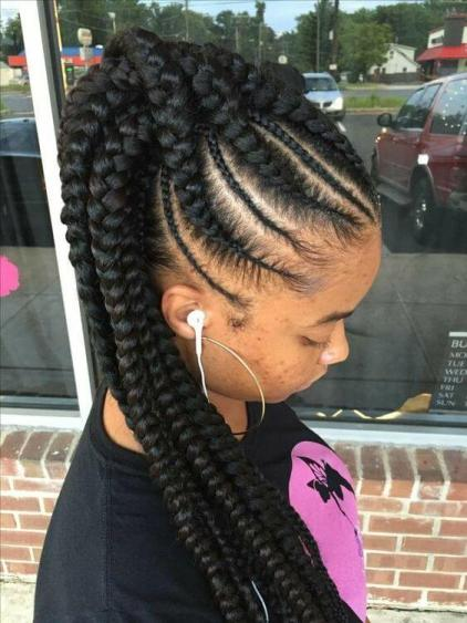 39 Trendy Braids Hairstyles for Black Girls to Copy in 2020