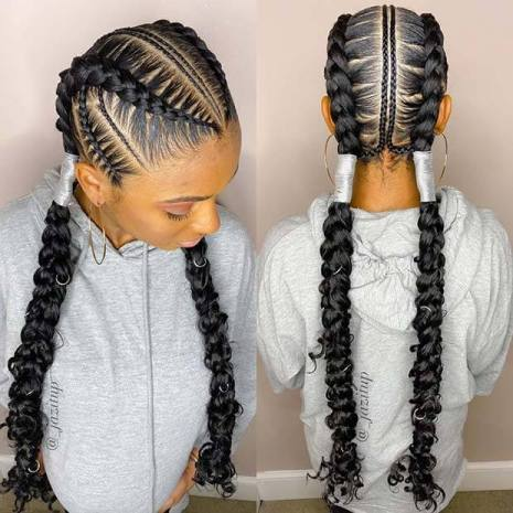20+ Awesome Bohemian Feed In Braids You Must Try Now