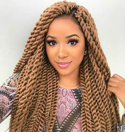 26 Gorgeous Gorgeous Blonde Twists For Black Women In 2020