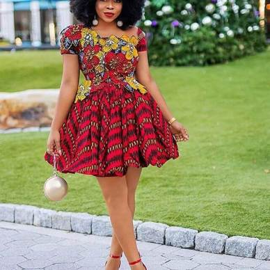 49 Best And Latest Ankara Gown Styles For Nigerian Weddings