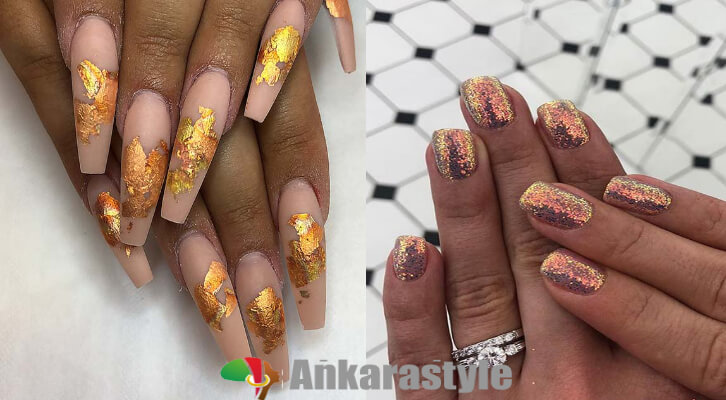 26+ Perfect Gold Nail Art Ideas 2020 For Next Trip to Salon
