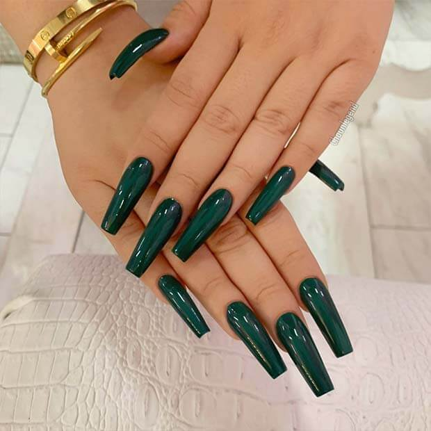 Tapered square nail designs