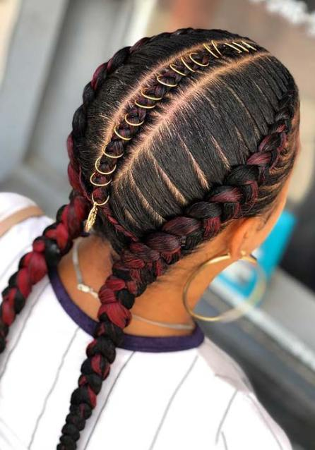 36 Two Braids Hairstyles Ponytails 2020 Best To Attract Eyes