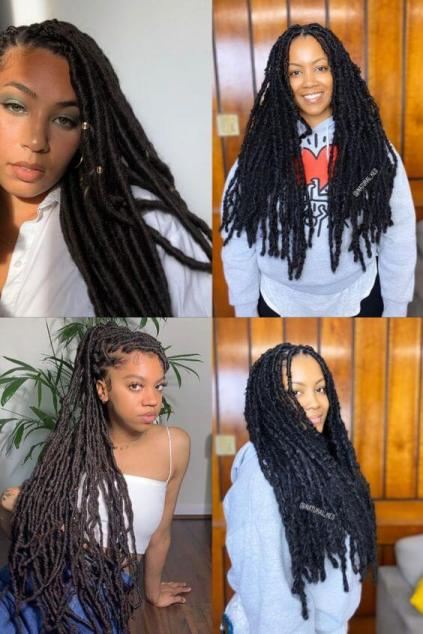 39 Short Faux Locs Braids To Copy With Best Ways to Pull Off