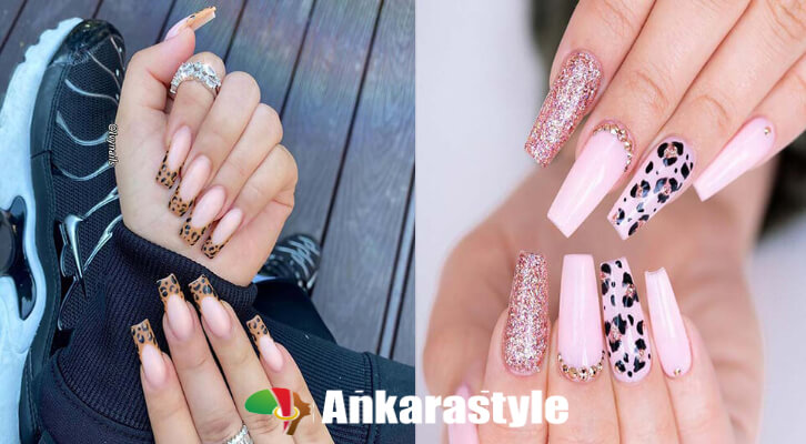 21 Pretty Leopard Nail Art Tips 2021 To Try Now