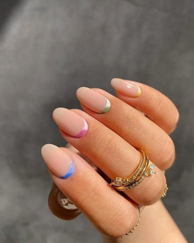 Rainbow Nails 2020 Trends