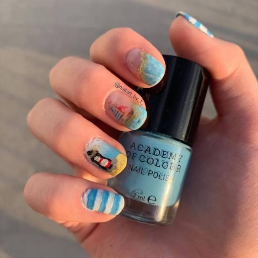 Summer Beach Nails 2021 trends