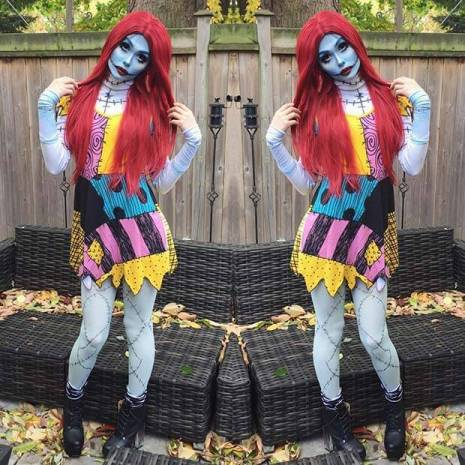 Sally Costume for Halloween