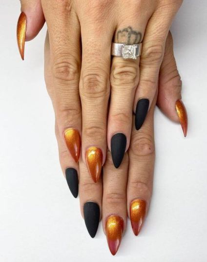 Metallic Nail Art Trends 2020