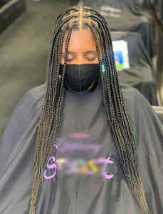 How to do knotless box braids?