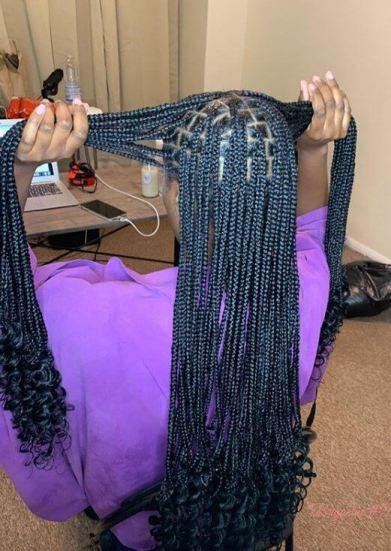 knotless braids