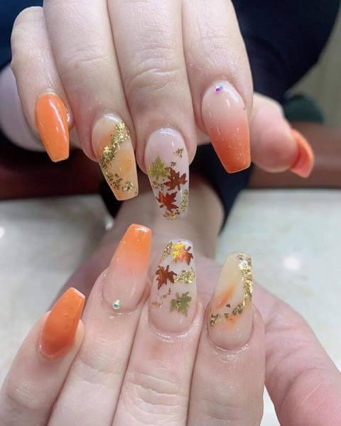 Maize Nail Art Design