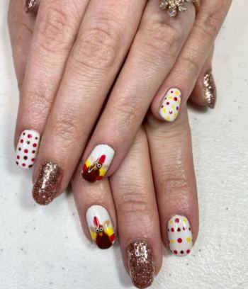 Nails for Turkey day