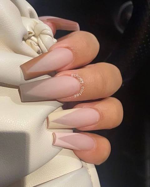 2. French Ombre Nails