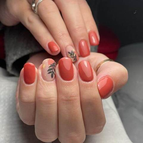21. Matte Red Nails That Are Awesome Nail Art 2021 Trends