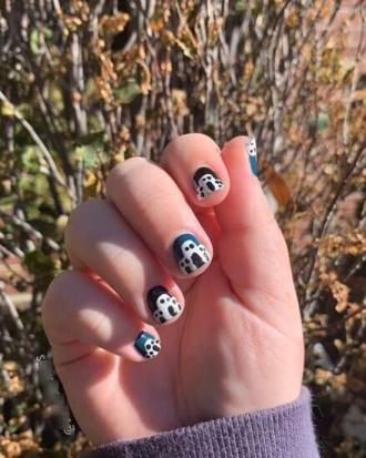 35 Awesome Natural Nails To Be Ready for Halloween