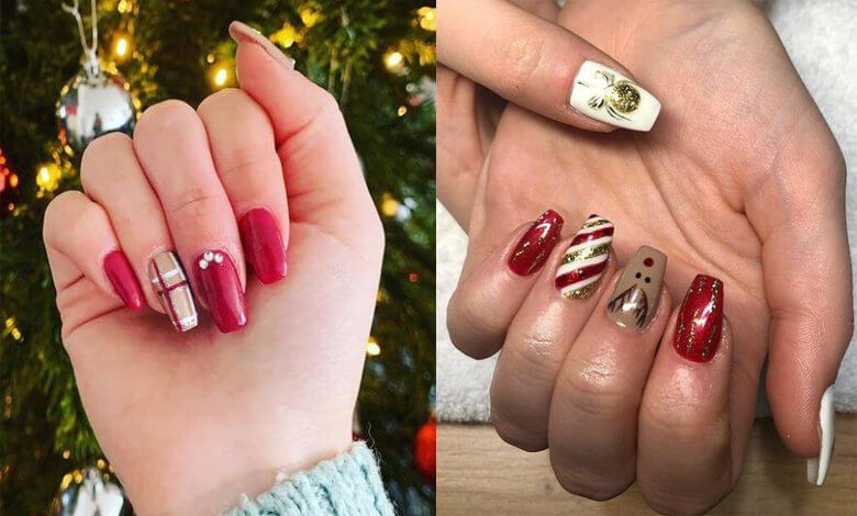 21 Christmas Nail Ideas 2021 Awesome To Express Now
