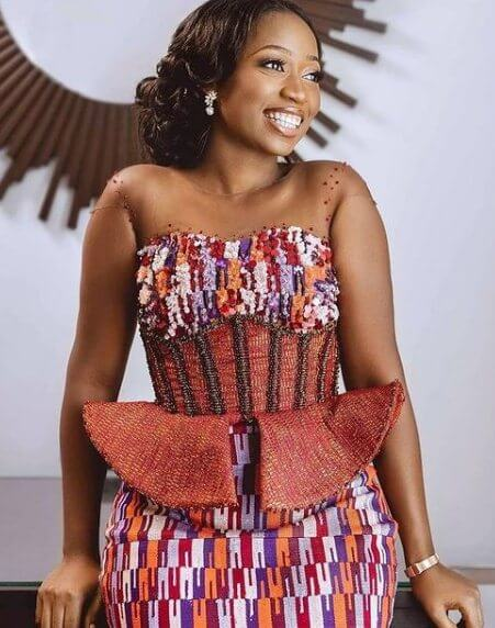 25 Latest Kente Dresses Styles Awesome for Engagement 2021