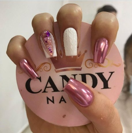 Candy-inspired nails