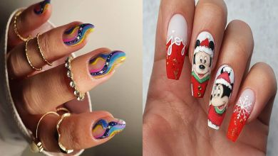 39 Festive Christmas Nail Designs 2021 - Christmas Nail Art Ideas