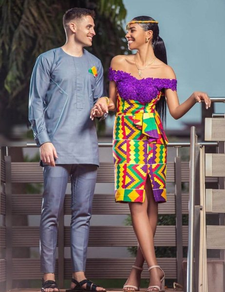23 Amazing Kente Fashion Dresses 2021 With Traditional Attires