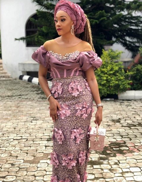 30 Trendy African Lace Gown Styles To Wear Now