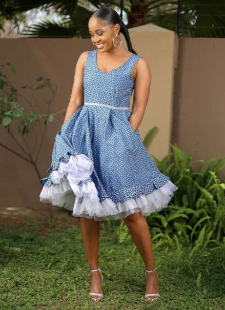 7. Stylish African traditional dresses