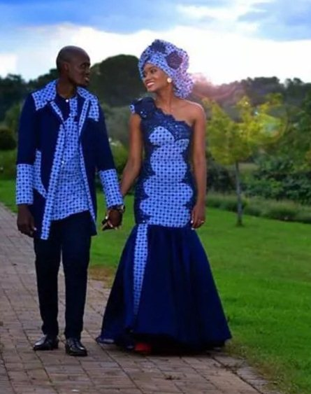 13. Beautiful Tswana traditional dresses