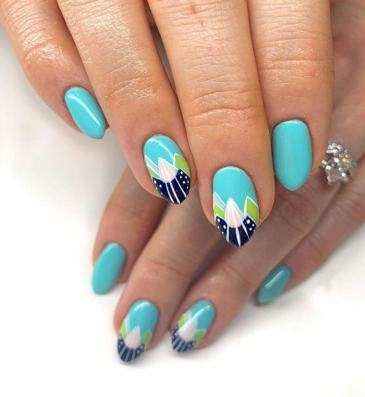 23 Easy Summer Nail Designs To Copy Yourself In 2021