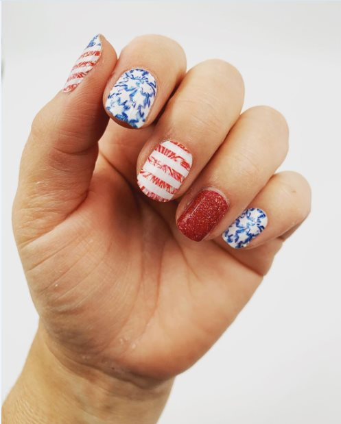 Stars and Nails Stripes