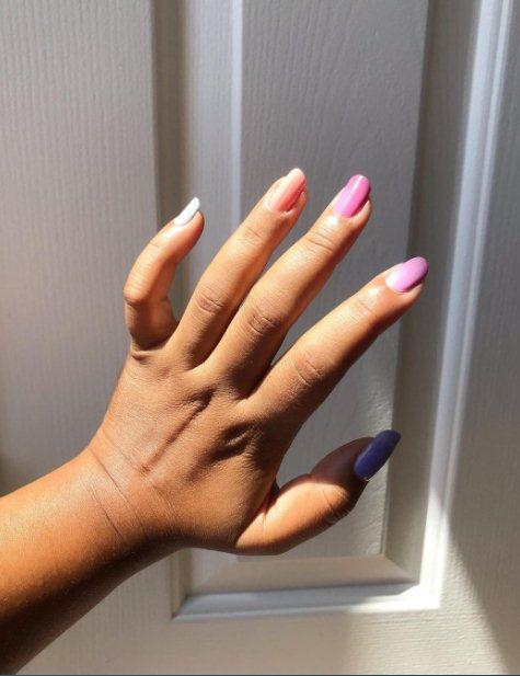 2. Fun Summer Manicure