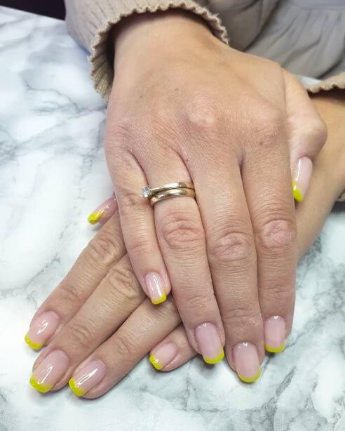 Fun French manicure ideas