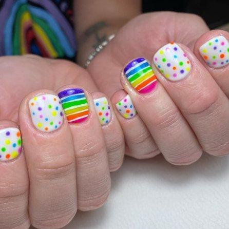 Rainbow Nail Ideas