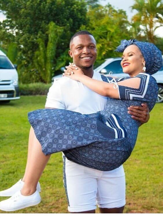 Tswana Inspired Traditional Wedding