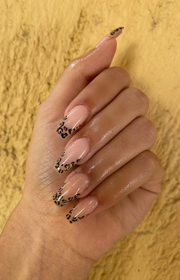 26 Perfect Leopard Nail Designs 2021 With Summer Nails Trend