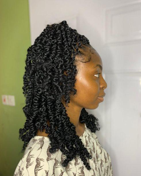 Passion twist braids styles