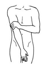 19 und Innenseite Oberschenkel - Jin Shin Jyutsu für Magen und Verdauung
