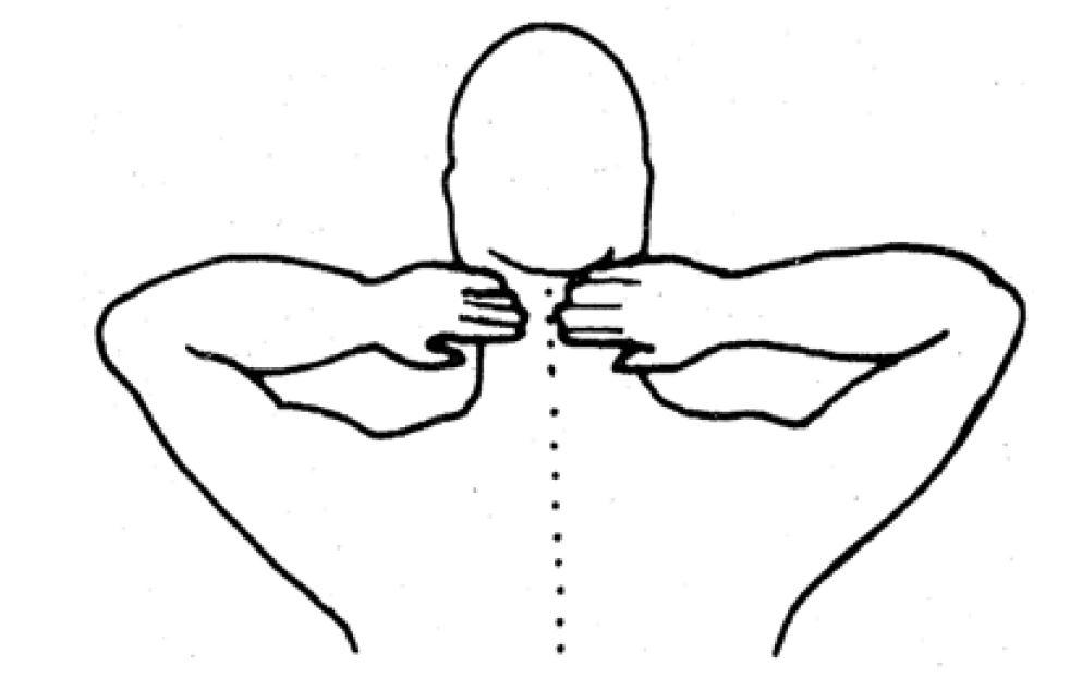 SES 12 für den Nacken - Jin Shin Juytsu