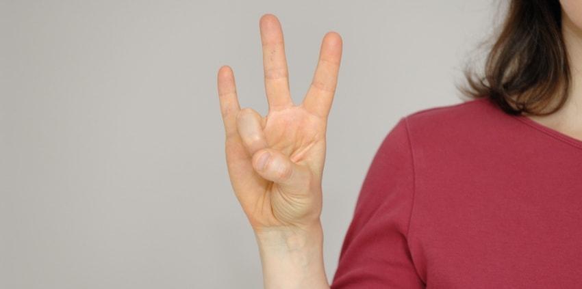 Jin Shin Jyutsu Mudra - Ring mit Ringfinger und Daumen