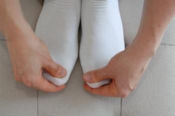 SES 7 an den großen Zehen strömen