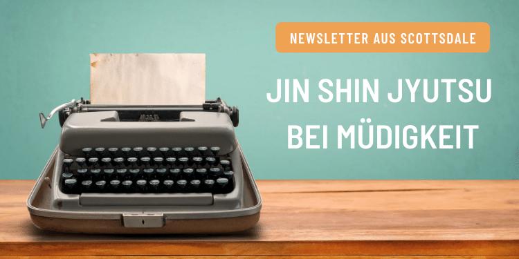 Jin Shin Jyutsu bei Müdigkeit