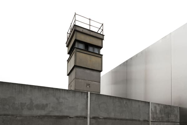 Foto einer Anlage der ehemaligen Berliner Mauer