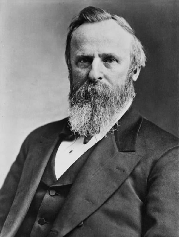 Foto des Präsidenten Rutherford B. Hayes