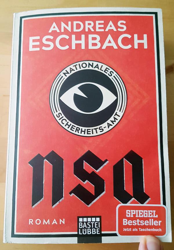 Buchcover von NSA – Nationales Sicherheits-Amt