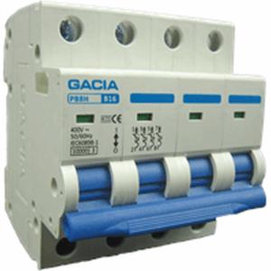 GACIA M80/PB8H-4B16 inst. 4p B16 10kA