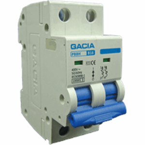 GACIA PB8H-2C10 inst. 2P C10 10kA