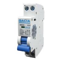 GACIA M80N-B16 inst. 1p+n B16 6kA (18mm)