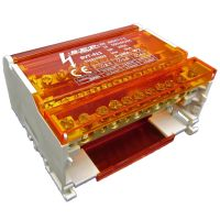 SEP BVT-411 verdeelset 100A 4×11 aanslui