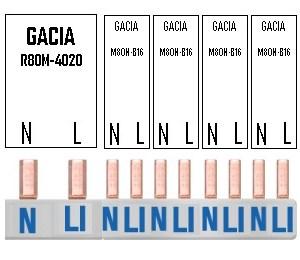 Kam 1ALS + 4INS (1F) GACIA
